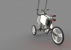 Chen Liu – Solectrike – A Future Mobility Concept for The Tourists