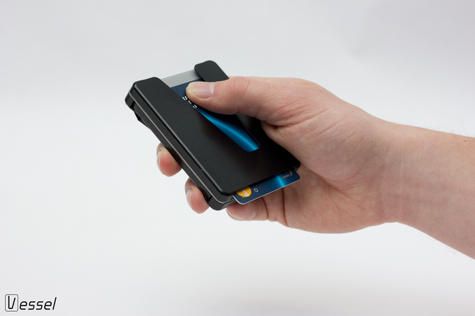 Vessel – The easy access wallet with a protective compartment – Kickstarter