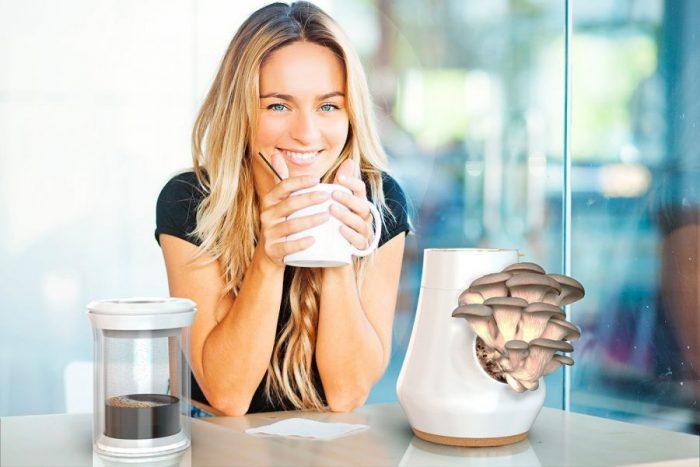 Mauricio Carvajal, Adrian Perez – HIFA – Coffee brewing-mushroom growing system