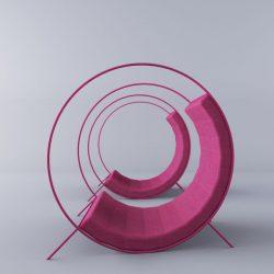 Svetlana Mazurenko – Tumbleweed – lounge chair