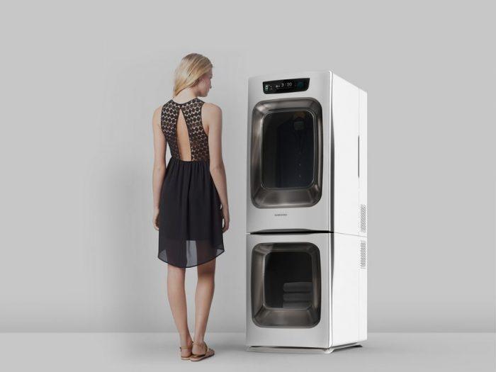 Minkyo Im – Wavelet – Clothes dryer – Microwave clothes drying machine