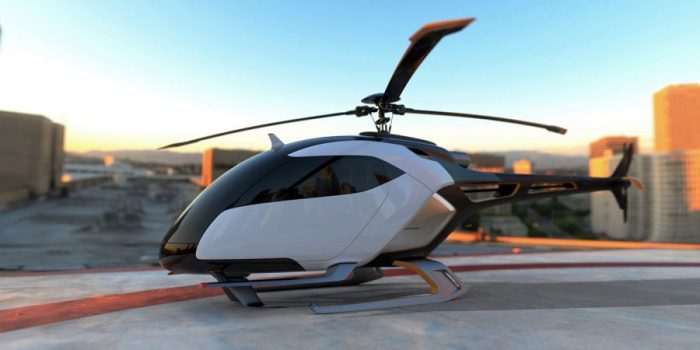 Technicon Design France – HELYOS – Urban helicopter Concept