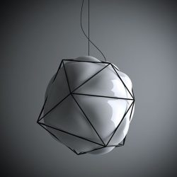 valerio sommella – Semai_blown glass lamp