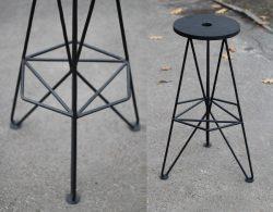 Fyodor Lazariev – Metal bar stool Delta