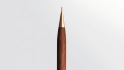 Handmade Ultra-Light Walnut & Brass Mechanical Pencil – Kickstarter