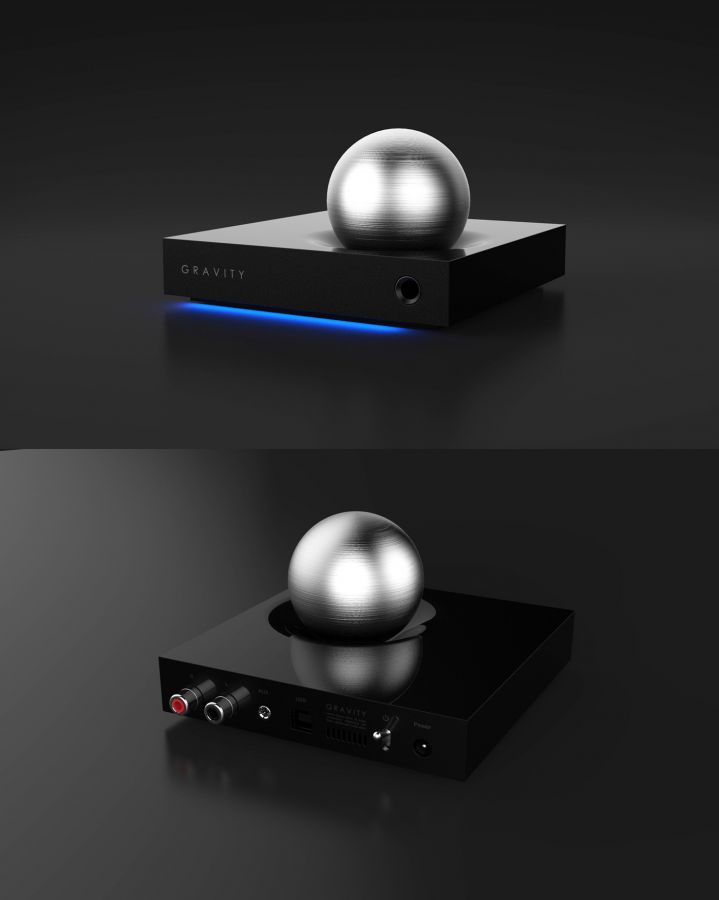 Jin Lim – GRAVITY, Headphone Amplifier-DAC