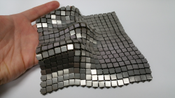 NASA's 3D-Printed Metallic Fabric – 'Space Fabric' Links Fashion and Eng ...