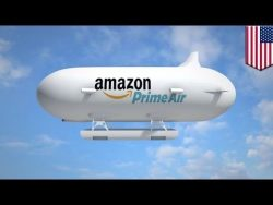 Amazon airship: Amazon patents unmanned airship to launch its delivery drones