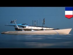 Green powered boat: Energy Observer to use all clean energy to sail around the globe