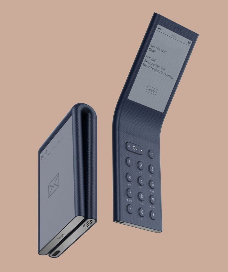 Mike George – halcyon Concept – A phone to escape the digital world