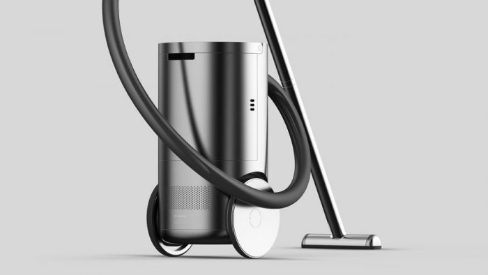 Sumin Shin – The airborne -a canister vacuum with intuitive movement