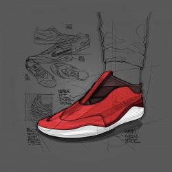 Zeeshan Hakkim – Footwear Sketches