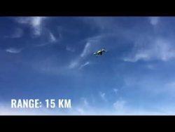 FlyPulse – LifeDrone-AED Defibrillator transport drone