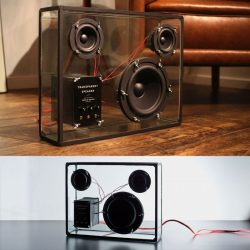 PEOPLE PEOPLE – Wireless Transparent Speakers with Flic Button – KICKSTARTER