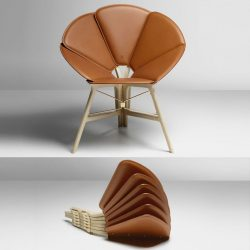 Raw-Edges – Concertina Chair For Louis Vuitton