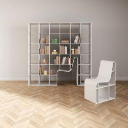 Sou Fujimoto – Bookchair for Alias