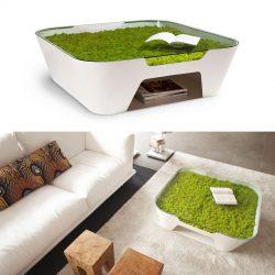 Alessio Romano – Verde Profilo – Greenside Collection – Sinkhole Table