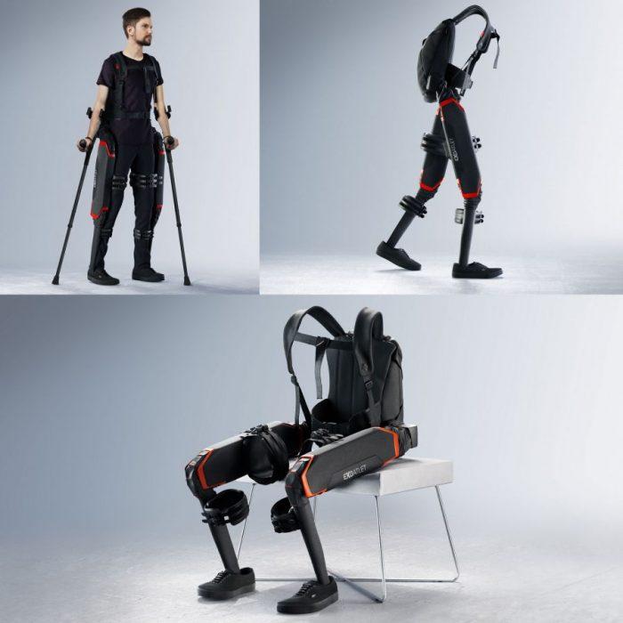 Art Lebedev – Exoatlet exoskeleton design