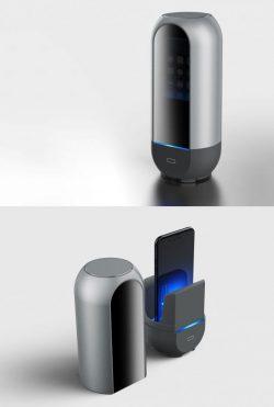 Hongseok Seo, Jo-Young Choo, S2victor design studio – Phone sterilizer_Link