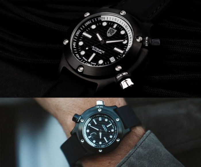 Rebel Swiss Made Automatic Watch