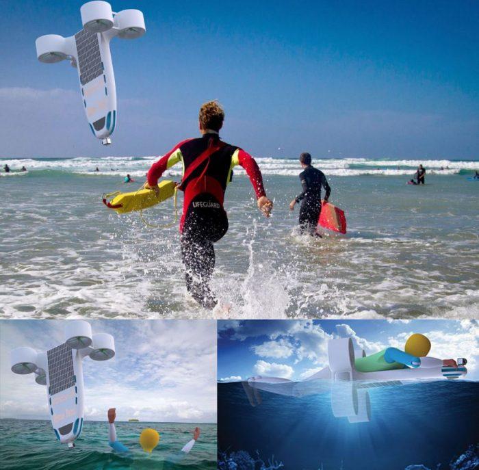 Sarsenbek Hazken – The Amphibious Joint Lifeguard UAV