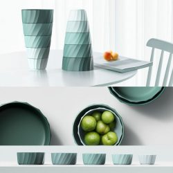 Zhou Buyi – Folding – tableware