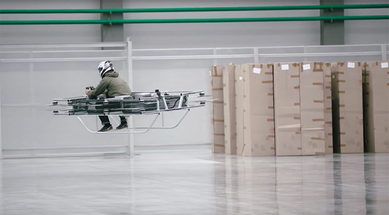 kalashnikov concern – electric-powered flying car