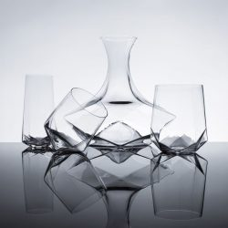Ryan Hume – Faceted Crystal Glassware
