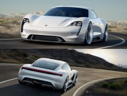 The Porsche Mission E – Tribute to tomorrow