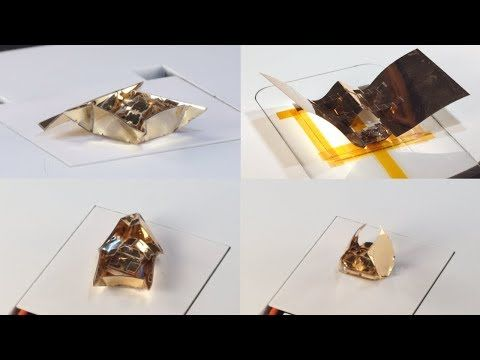 MIT CSAIL: MIT Computer Science and Artificial Intelligence Laboratory – Transforming Robots with Origami Exoskeletons