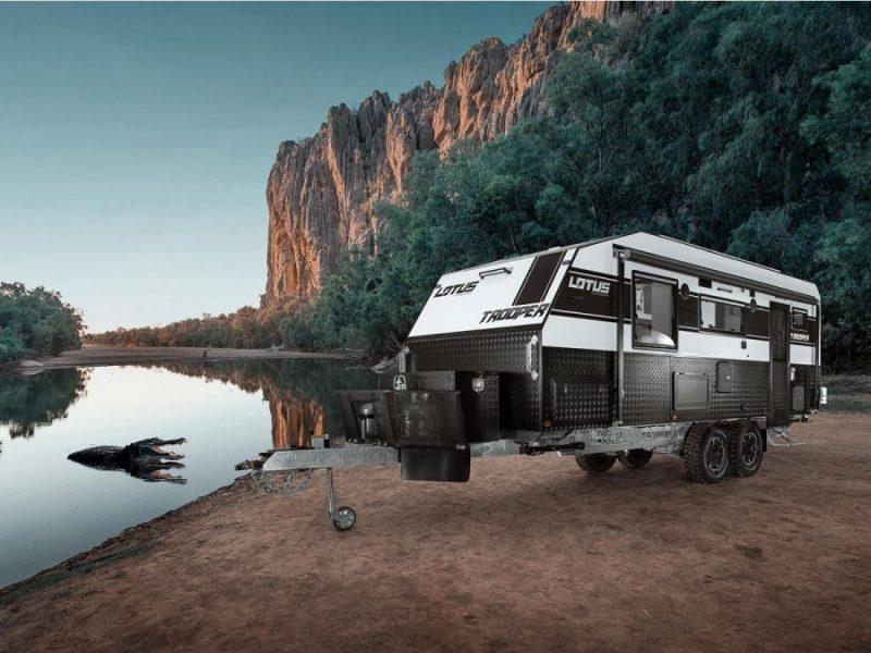 Lotus Caravans – Trooper trailer