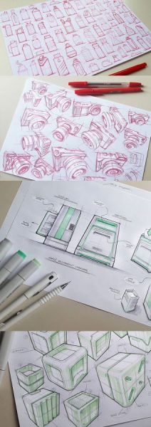 Marius Kindler – Industrial Design Sketches