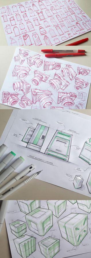 Marius Kindler – Industrial Design Sketches