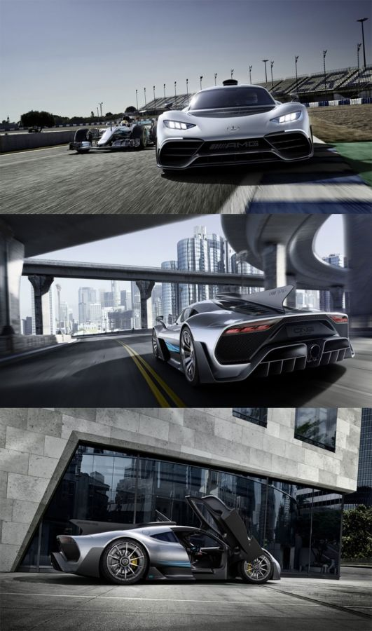 Mercedes-AMG Project ONE – The Future of Driving Performance
