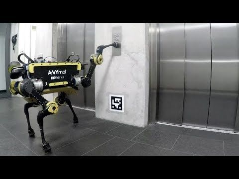 Robotic Systems Lab – ANYmal Using an Elevator