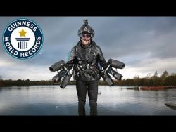 Real life Iron Man sets new flight speed record – Guinness World Records Day