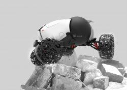 Maya Prokhorova – Bend – unmanned cross -country vehicle