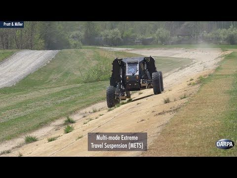 Demonstrations of DARPA's Ground X-Vehicle Technologies – YouTube