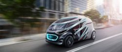 Mercedes-Benz Vision URBANETIC: Mobility for Urban Areas