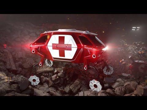 [Hyundai at 2019 CES] ELEVATE : Walking Car Concept