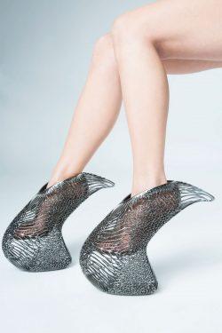 Ica & Kostika – 3D Printed Mycelium Shoe